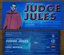 JUDGE JULES IKON DIVA SOUTHAMPTON NIGHT CLUB NOVEMBER 1999 FLYER