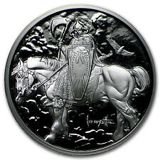 1 oz Silver Proof Round - Frank Frazetta (Death Dealer) - SKU #97087