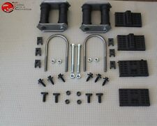 Multi Leaf Spring Kit Set Eye U T Bolts Brackets Pads J Clips Nuts Camaro Nova