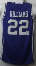 JAY WILLIAMS UNSIGNED DUKE BLUE DEVILS 40009 SIZE XL BLUE JERSEY