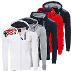 Geographical Norway Herren Gatsby Winter Sweat Jacke Pullover Polo Hoodie Neu ✔