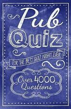 Pub Quiz,Arcturus Publishing,New Book mon0000088448
