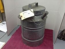 NORFOLK & WESTERN RAILROAD WATER COOLER COMPLEAT NEVER USED W.SPOUT COVER ORIG.
