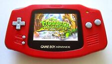 Gameboy Advance w/ AGS-101 Brighter Screen Backlit Red - Nintendo GBA