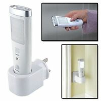 EMERGENCY 20 LED NIGHT LIGHT SAFETY TORCH RECHARGEABLE MOTION SENSOR POWER CUT