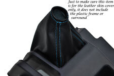 BLUE STITCHING FITS HONDA ACTY TN REAL LEATHER GEAR GAITER