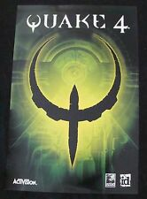 QUAKE 4 video game poster original RAVEN-ID  promotional item