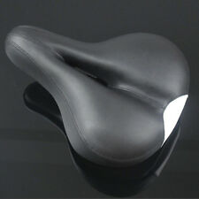Road MTB Silica Saddle Bike Bicycle Cycling Seat Wide Comfort Cushion Padded