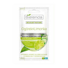 Bielenda - CUCUMBER & LIME Deep Cleansing Mask + Intensively Moisturizing Mask