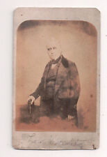Vintage CDV Thomas Babington Macaulay 1st Baron Macaulay  Whig politician