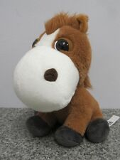 DUKE THE HORSE BIG HEADZ CO-OP FARMYARD FRIENDS PONY SOFT TOY FROM GOODNESS GANG