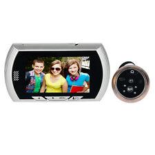 """4.3"""" Door Eye Viewer Detector Video Doorbell Peephole IR Camera Photo Capture"""