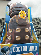 Doctor who  Bronze colour  Dalek soft toy  figure with lights and sounds