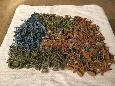 large joblot of 1/72nd scale matchbox toy soldiers 300+ pieces
