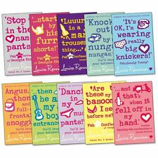 Louise Rennison Confessions of Georgia Nicolson 10 Books 10 Titles Complete Set