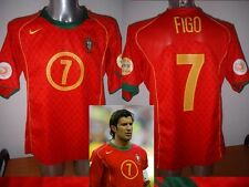 Portugal Luis Figo Madrid Nike Shirt Jersey Football Soccer Adult Medium Euro 04