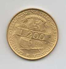 ITALY - 200 LIRE 1996 - 100TH ANNIVERSARY OF THE CSA - Fine Condition