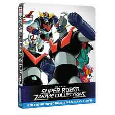 Blu-ray * Go Nagai SUPER ROBOT Movie Collection Limited Ed. (2 Br+Dvd) * sigilla