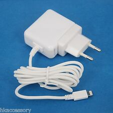 12W AC Wall Charger with European CE Plug WHITE for iPhone 6s 6 Plus 5s 5c 5