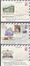 Three Russian Letter sheets various Issues. Covers,  028
