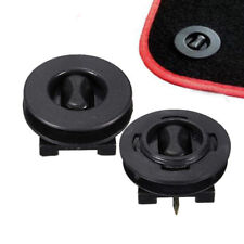2x Anti Slip Knob Pads Fixing Grips Clamps Floor Holders Car Mat Carpet Clips