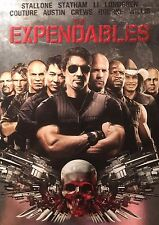 The Expendables Die-Cut Slip Case Region 1 NTSC DVD Like New