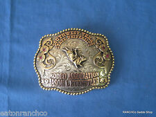 Mortenson Custom Silver Engraved RodeoTrophy Award Bull Rider Belt Buckle Name