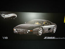 Hot Wheels Elite Ferrari F355 Berlinetta Black 1/18 Limited Edition