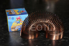 *NEW IN BOX* THE ORIGINAL POOF METAL SLINKY -  Rose Gold EDITION