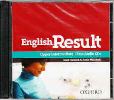 Oxford ENGLISH RESULT UPPER-INTERMEDIATE Class Audio CDs (2) @NEW Sealed@