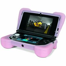 Loose Pink Dreamgear Comfort Grip Silicone Case Protect Nintendo OLD 3DS System
