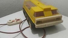 VINTAGE SPACE BASE TOY 70s EXPLORER MOON ROVER BATTERY OPERATED USSR CCCP RUSSIA