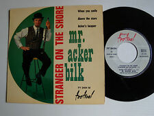 "MR. ACKER BILK : Stranger on the shore 7"" EP 1961 French press FESTIVAL FY 2404"
