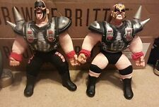 "WWF Buddies Legion of Doom 2000 Hawk Animal Wrestling 16"" Figures"