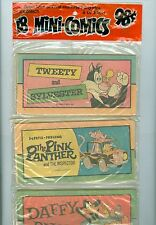 Western Mini-Comics 18 Pack MT Tweety & Sylvester Pink Panther Daffy Duck