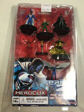 HEROCLIX EARTH 2 THE WONDERS OF THE WORLD 6 FIGURE  SET NEW