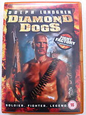 Dolph Lundgren DIAMOND DOGS ~ 2007 Acción Suspense ~ GB DVD