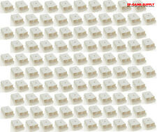 Lot 100 x White Battery Pack Holder Cover Shell for XBOX 360 Wireless Controller