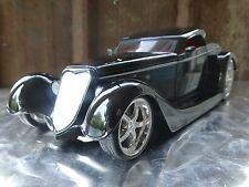 JADA 1934 Ford Coupe D Rods Black 1:24 Scale Diecast Loose Deluxe Model Car