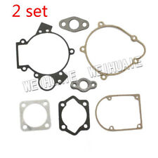 2 Sets 66cc 80cc Motorized Bicycle Bike Gas Engine parts - 80cc full gasket 8mm