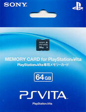 100% Genuine Sony PS Vita 64GB Memory Card Playstation PSV BRAND NEW SEALED