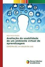 Avaliacao Da Usabilidade de Um Ambiente Virtual de Aprendizagem by Pereira...