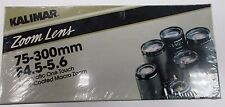 **NEW SEALED / UNOPENED IN THE BOX** Kalimar 75-300 zoom for PENTAX F4.5~5.6