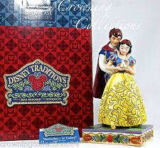 Jim Shore Someday is Today Snow White and Prince Charming Disney Figurine NIB