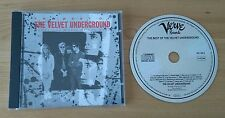 The Best Of The Velvet Underground 1989 German CD Album Verve Classic Art Rock