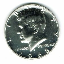 1968 San Francisco Proof Silver Strike Jfk Half Dollar Coin!