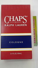 CHAPS BY RALPH LAUREN FOR MEN COLOGNE SPLASH 3.3 / 3.4 OZ/ 100 ML NEW IN BOX