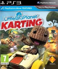LITTLE BIG PLANET KARTING PS3 Game (PRE OWNED) (USED) Excellent Condition