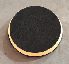 "7.5"" Orange Microfiber Flat Polishing Pad For Use With Orbital Polisher 680MFP"