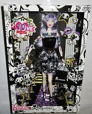 NRFB BARBIE ~ 2015 TOKIDOKI 10TH ANNIVERSARY PLATINUM LABEL PURPLE DOLL HAIR